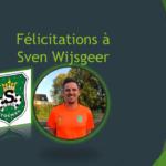 Sven Wysgeer décroche son diplôme d'entraîneur