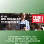 Stockel participe au #horecacomeback