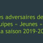 Les séries des Jeunes pour la saison 2019-2020