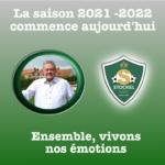 La saison 2021-2022 débute aujourd'hui