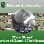 Marc Struyf, notre referee Ambassador